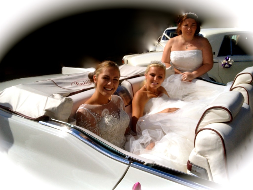 Beautiful brides on a glorious sunny day at Carlton in Lindrick, Worksop.