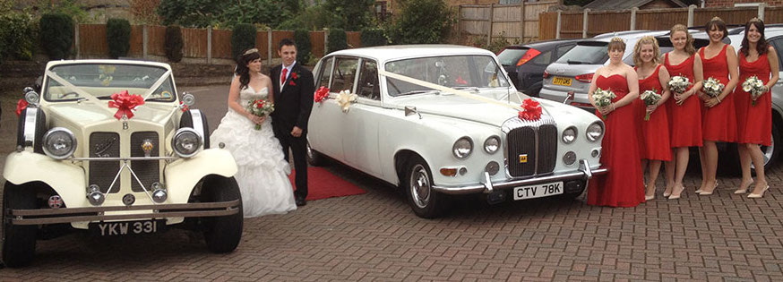 Beauford & Daimler on Wedding
